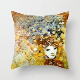 Carnevale Throw Pillow