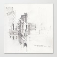 View from MoMA, NYC Canvas Print