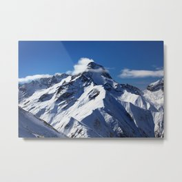 Alpes Metal Print