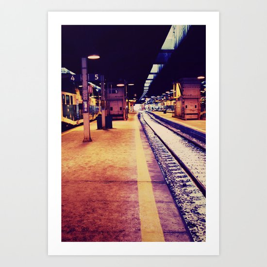 ESTACIÓN Art Print