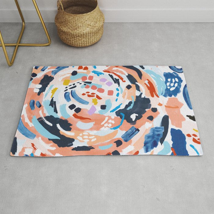 Modern Artistic Painting Rug By