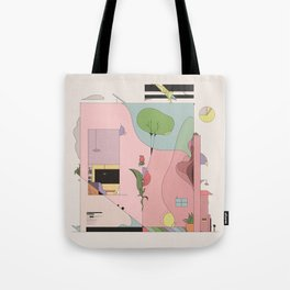 The Comfort of Your Home Tote Bag