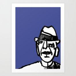 Leonard Cohen Art Print
