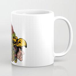 Indian Chieftain Head Illustration Coffee Mug