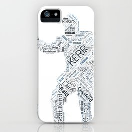 Kerr Reiver Art iPhone Case