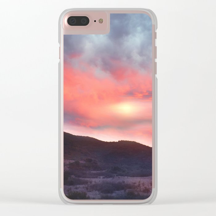 Magical Sunset III Clear iPhone Case