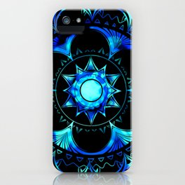 Psychedelic Mandala iPhone Case