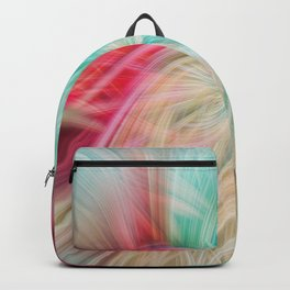 Tropical Map Twirl Backpack