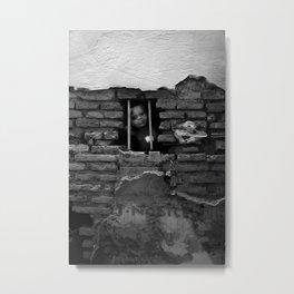 Leather Shop, Rome, 2011 Metal Print