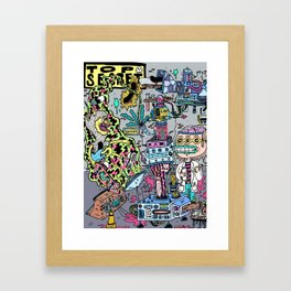 How It's Made: Skateboard Edition Framed Art Print