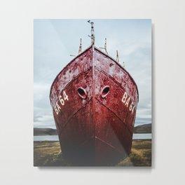 Garðar BA-64 in Iceland Metal Print