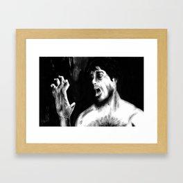 Beware The Moon, Lads Framed Art Print