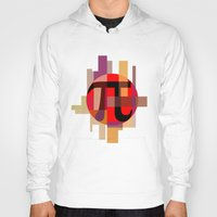 pi Hoodies featuring Geometric Pi  by Vi Sion