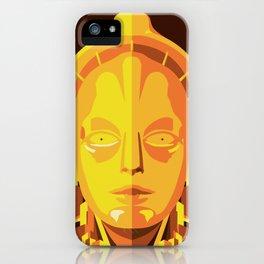 Metropolis Golden iPhone Case