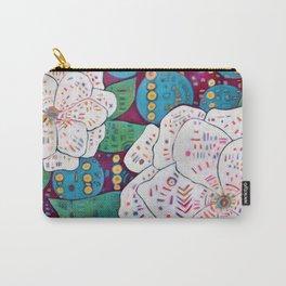 Gardenias Carry-All Pouch