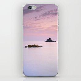 San Cristobal Reefs At Sunset . iPhone Skin