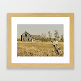 Abandoned South Dakota 2616 Framed Art Print