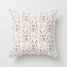 Easter Joy Throw Pillow