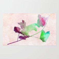 maple 2 watercolor by Jacqueline Madonado & Garima Dhawan Rug