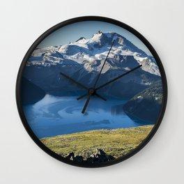 Garibaldi Lake Wall Clock