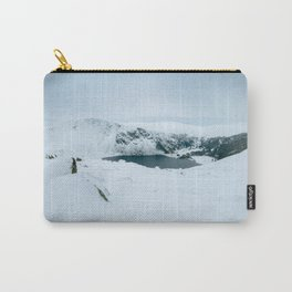 Lough Tay in winter time (RR 195) Carry-All Pouch