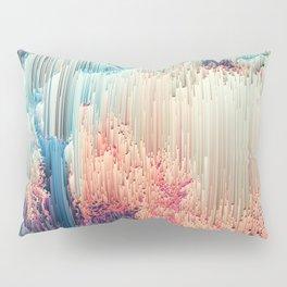 Fairyland - Abstract Glitchy Pixel Art Pillow Sham