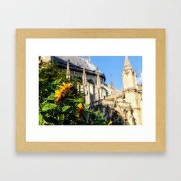 Praying for Bright Days Framed Art Print