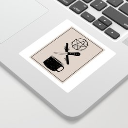 DELUXEWITCH Tarot Suits Sticker