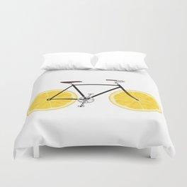 Lemon Bike Duvet Cover