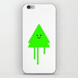 Happy Xmas Tree iPhone Skin