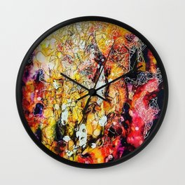 Connective Thoughts Wall Clock