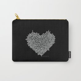 The Negative Heart of Thorns Carry-All Pouch