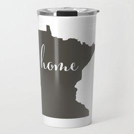 Minnesota is Home Travel Mug