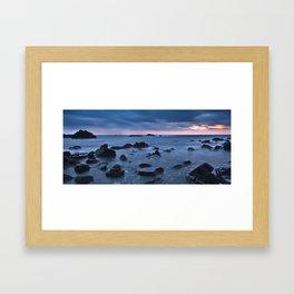 Cala Pregonda Framed Art Print