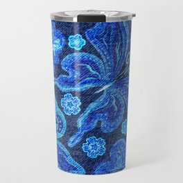 Butterflies - Distressed - Bright Travel Mug