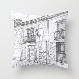 Alcalá Street Throw Pillow