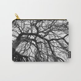 Tree in b&w Carry-All Pouch