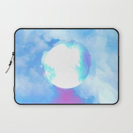 Misplaced Circle Water Laptop Sleeve