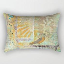 Kristin's Bird Rectangular Pillow