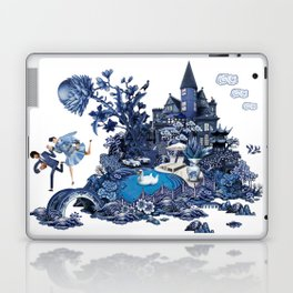 The Lovers Flee Laptop & iPad Skin