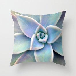 Pastel Succulent Throw Pillow