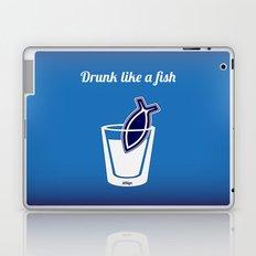 Drunk like a fish Laptop & iPad Skin