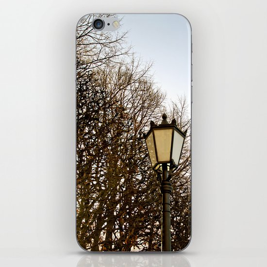 Lamppost Melodies  iPhone & iPod Skin