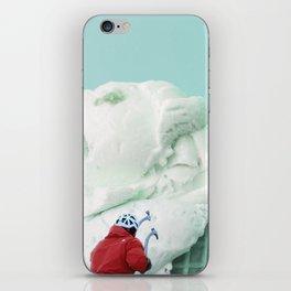 Ice climbing iPhone Skin