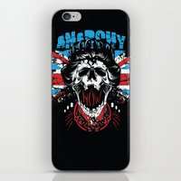 anarchy iPhone & iPod Skins featuring Anarchy queen by Tshirt-Factory