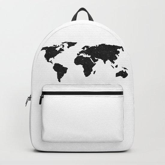 Galaxy World Map Backpack