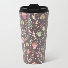 Ladybugs and flowers Travel Mug