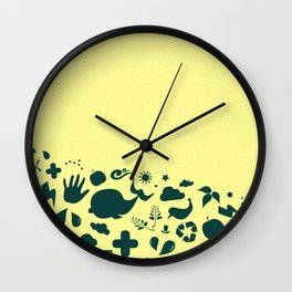 Eco Green Wall Clock