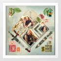Soft :: Fine Art Collage by jennylloyd