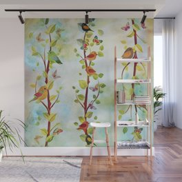 Spring Arrivals Wall Mural